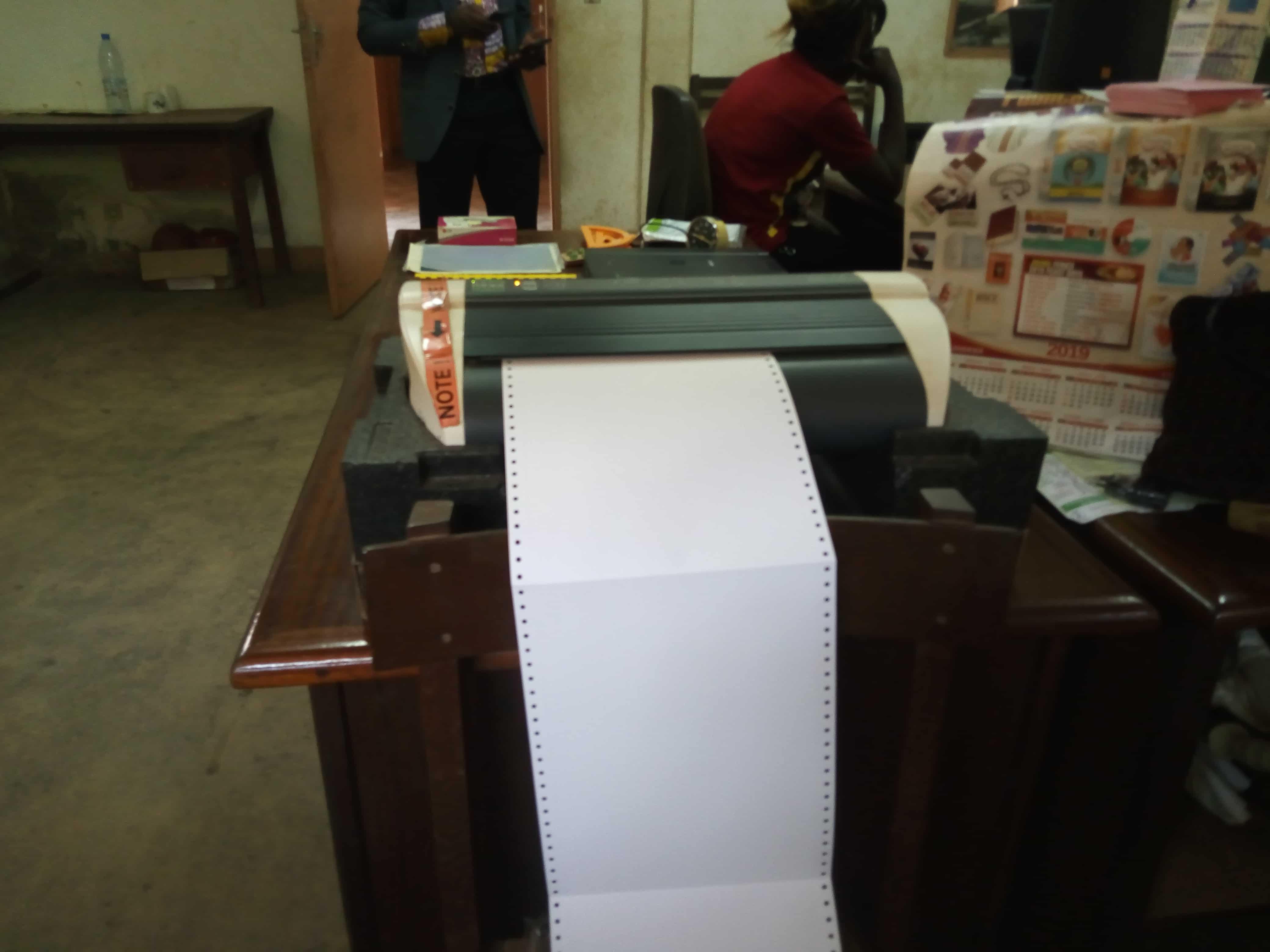 Imprimerie Braille